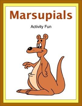 Marsupials Activity Fun