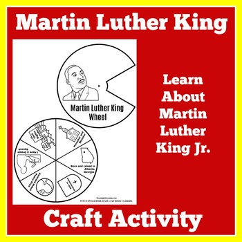 Martin Luther King Activity | Martin Luther King Craft | M