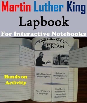 Black History Month Unit: Martin Luther King Interactive N