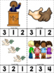 Martin Luther King ABC's & 123's Clip Cards {NO DITTOS}