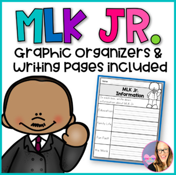 January MLK DAY Writing Activities