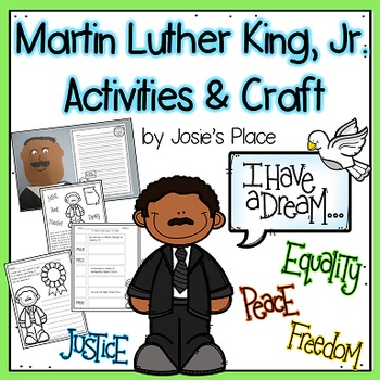 Martin Luther King Activities and Craft