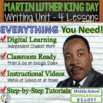 Martin Luther King Day Writing BUNDLE - Argument Persuasiv