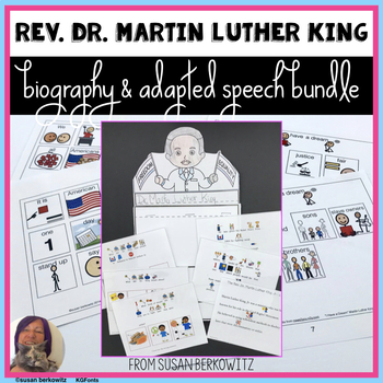 Martin Luther King Day Bundle for Special Education
