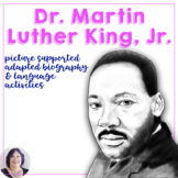 Martin Luther King Day Story & Materials for Special Education