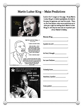 Martin Luther King Entire High Interest Unit - Dozens of C