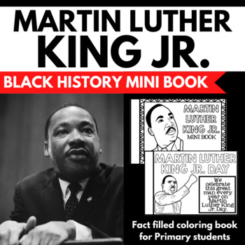 Martin Luther King Jr. Unit Mini Booklet Project - Facts a