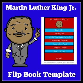 Martin Luther King Jr. Activity | Martin Luther King Flip