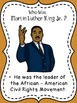 Martin Luther King Jr Close Reading Passage and Activities