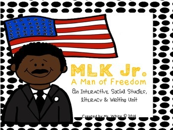 Martin Luther King Jr. {An Interactive Literacy, Writing,