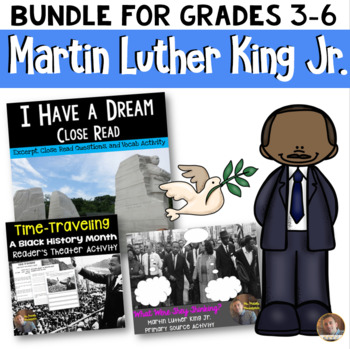 Martin Luther King Jr. BUNDLE: Includes all MLK Activities