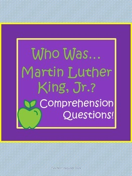 "Martin Luther King, Jr. Biography by Bader ""Who Was..."" Co"