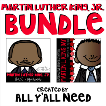 Martin Luther King, Jr. Bundle:  Fact and Opinion plus MLK