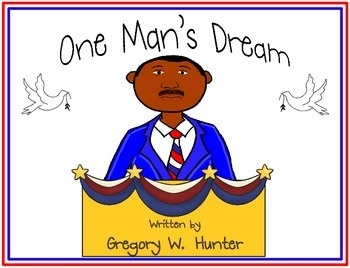 Martin Luther King, Jr. ~ Craftivity,  Color Book, Student