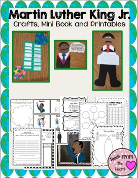 Martin Luther King Jr. Craftivity (A Black History Month C