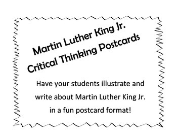 Martin Luther King Jr. Research Postcards