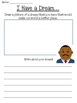 Martin Luther King Jr. Day Fun Freebie