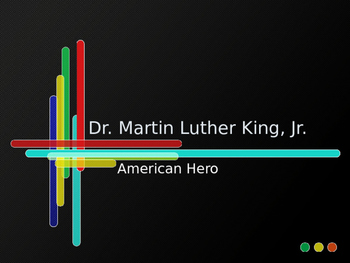Martin Luther King, Jr. Day PowerPoint and Assessment