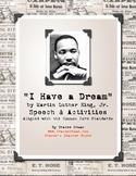 Martin Luther King, Jr. Dream Speech & Activities FREE