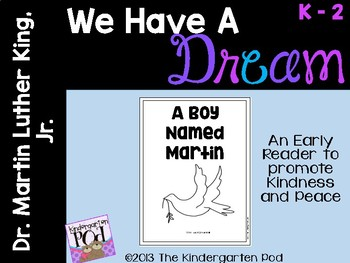 Martin Luther King, Jr. Early Reader