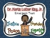 Martin Luther King, Jr. {Emergent Reader}