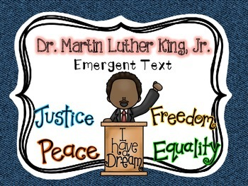 Martin Luther King, Jr. {Emergent Reader}