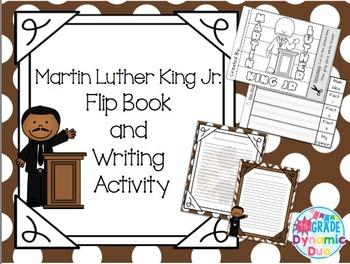 Martin Luther King Jr. Flip Book and Activity