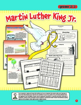 Martin Luther King Jr. (Grs. 2-3)