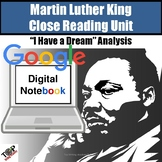Martin Luther King Jr. I Have a Dream Close Read Digital G