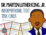 Martin Luther King Day Informational Text Task Cards for G