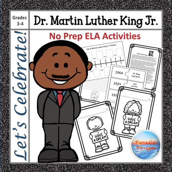 CCSS Martin Luther King Jr. Informational Text Based Writi