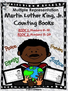 Martin Luther King, Jr. Interactive Counting Books (Number