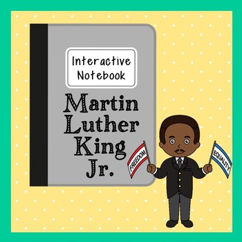 Martin Luther King, Jr. Interactive Notebook, Civil Rights