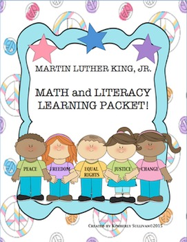 Martin Luther King Jr. Printables! Math and Literacy Packet!