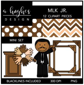 Martin Luther King Jr. - MLK Jr. Mini Set {Graphics for Co