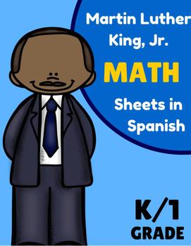 Martin Luther King Jr. Math Worksheets in Spanish) Matemat