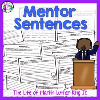 Martin Luther King Jr. Mentor Sentences
