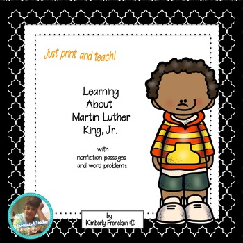 Martin Luther King, Jr. Mini-lessons: Non-Fiction Reading