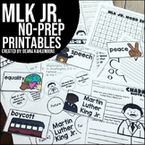 Martin Luther King Jr. {No Prep Practice}