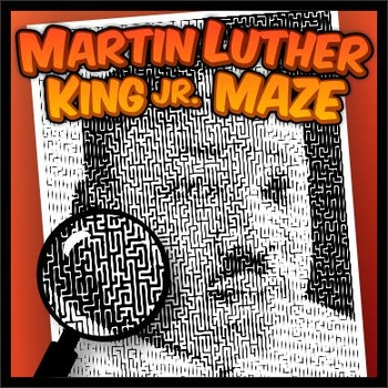 Martin Luther King Jr. Pictorial Maze