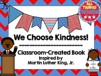 Martin Luther King, Jr Preschool Book; Kindness