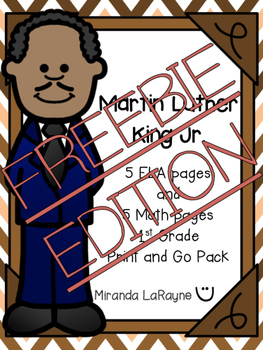Martin Luther King Jr. Print and Go Pack - FREEBIE