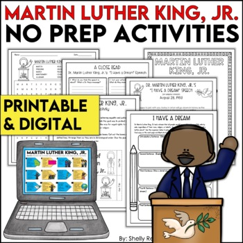 Martin Luther King, Jr. Print & Go Packet