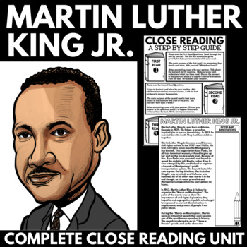 Martin Luther King Jr. Unit Information and Guided Researc