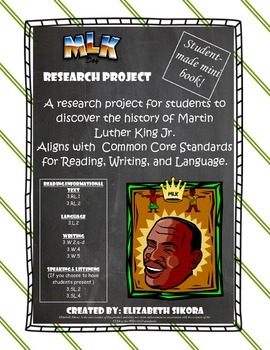 Martin Luther King Jr. Research Project