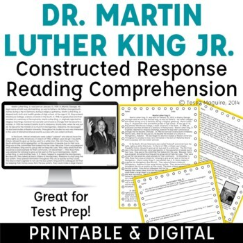 Martin Luther King Jr. {freebie!}