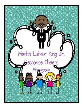 Martin Luther King Jr. Response Sheets