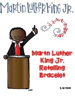 Martin Luther King Jr. Retelling Bracelet Craft