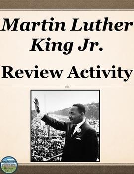 Martin Luther King Jr. Review Timeline