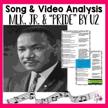 "Martin Luther King, Jr. Lyrics & Video Analysis-""Pride: In"